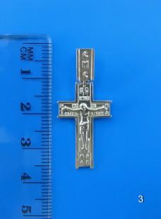 Серебряный крестик 3