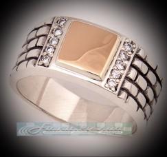 Перстень (печатка) КР4971з