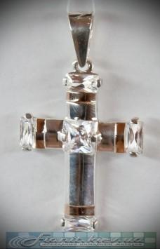 Подвеска(кулон) крестик в0105
