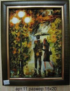 Картина(панно) из янтаря 11