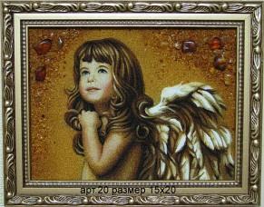 Картина(панно) из янтаря 20