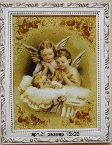 Картина(панно) из янтаря 21