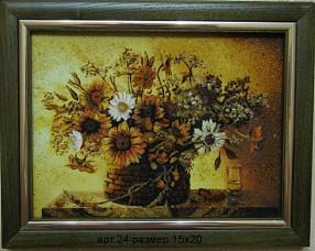 Картина(панно) из янтаря 24