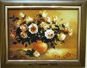 Картина(панно) из янтаря 25