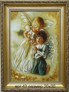 Картина(панно) из янтаря 43