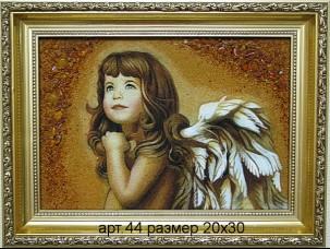 Картина(панно) из янтаря 44