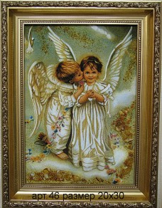 Картина(панно) из янтаря 46