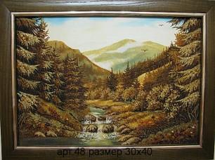 Пейзаж из янтаря 48