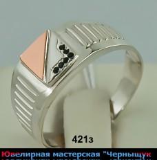 Перстень (печатка) 421з
