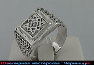 Перстень (печатка) Сварог 437