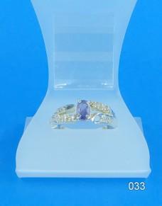 Серебряное кольцо 033