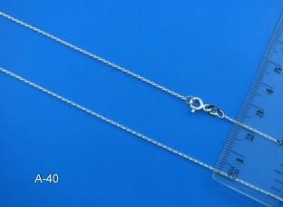 Серебряная цепочка А-40