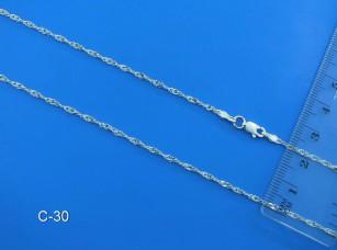 Серебрянная цепочка С-30