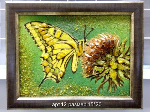 Картина(панно) из янтаря 12