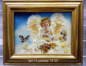 Картина(панно) из янтаря 13