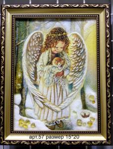 Картина(панно) из янтаря 57