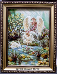 Картина(панно) из янтаря 60