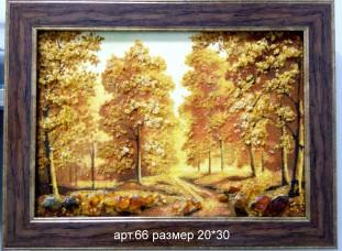 Картина из янтаря 66