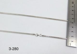 Серебряная цепочка З-280