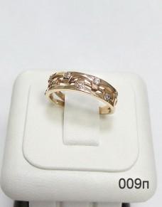 Серебряное кольцо 009п