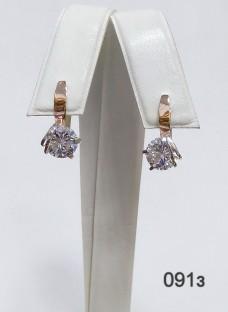 Серебряные сережки 091з