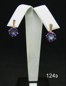 Серебряные сережки 124з