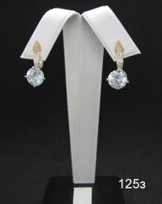 Серебряные сережки 125з