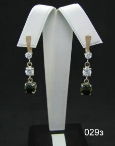 Серебряные сережки 029з