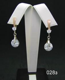 Серебряные сережки 028з