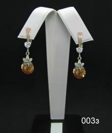 Серебряные сережки 003з