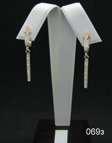 Серебряные сережки 069з