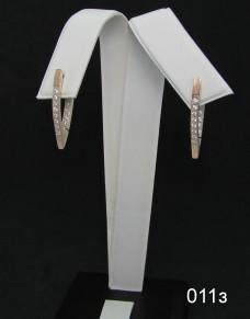 Серебряные сережки 011з