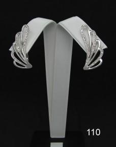 Серебряные сережки 110
